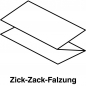 Mobile Preview: Papierhandtücher Naturell Zick-Zack-Falzung 1-lagig